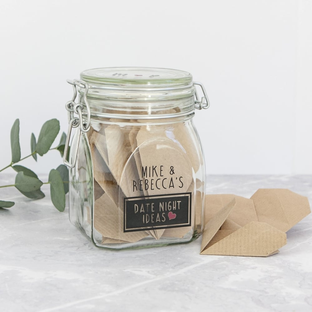 Personalised Date Night Wish Jar - Oh My Gift