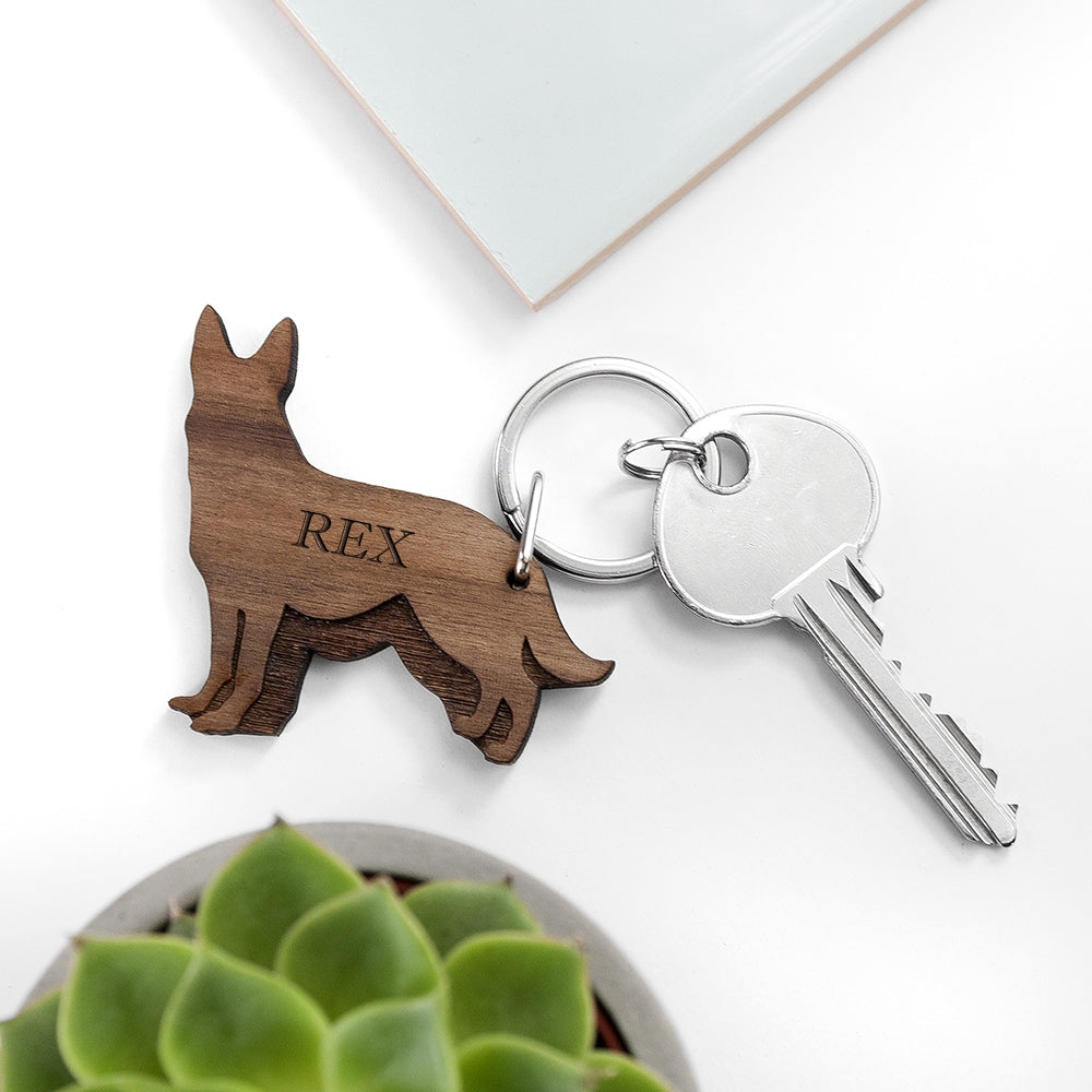 Dog Keyring German Shepherd - Oh My Gift