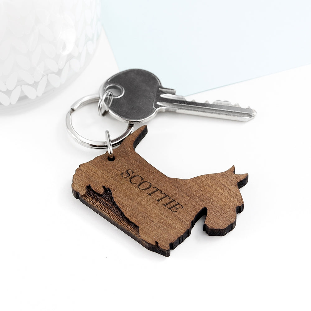 Dog Keyring Scottish Terrier - Oh My Gift