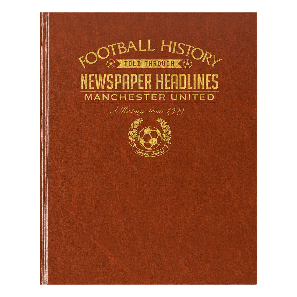 Personalised Name and Club Football Book - Oh My Gift