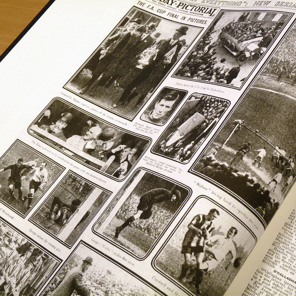 Personalised Football Book with Historic Newspaper Reports - Oh My Gift
