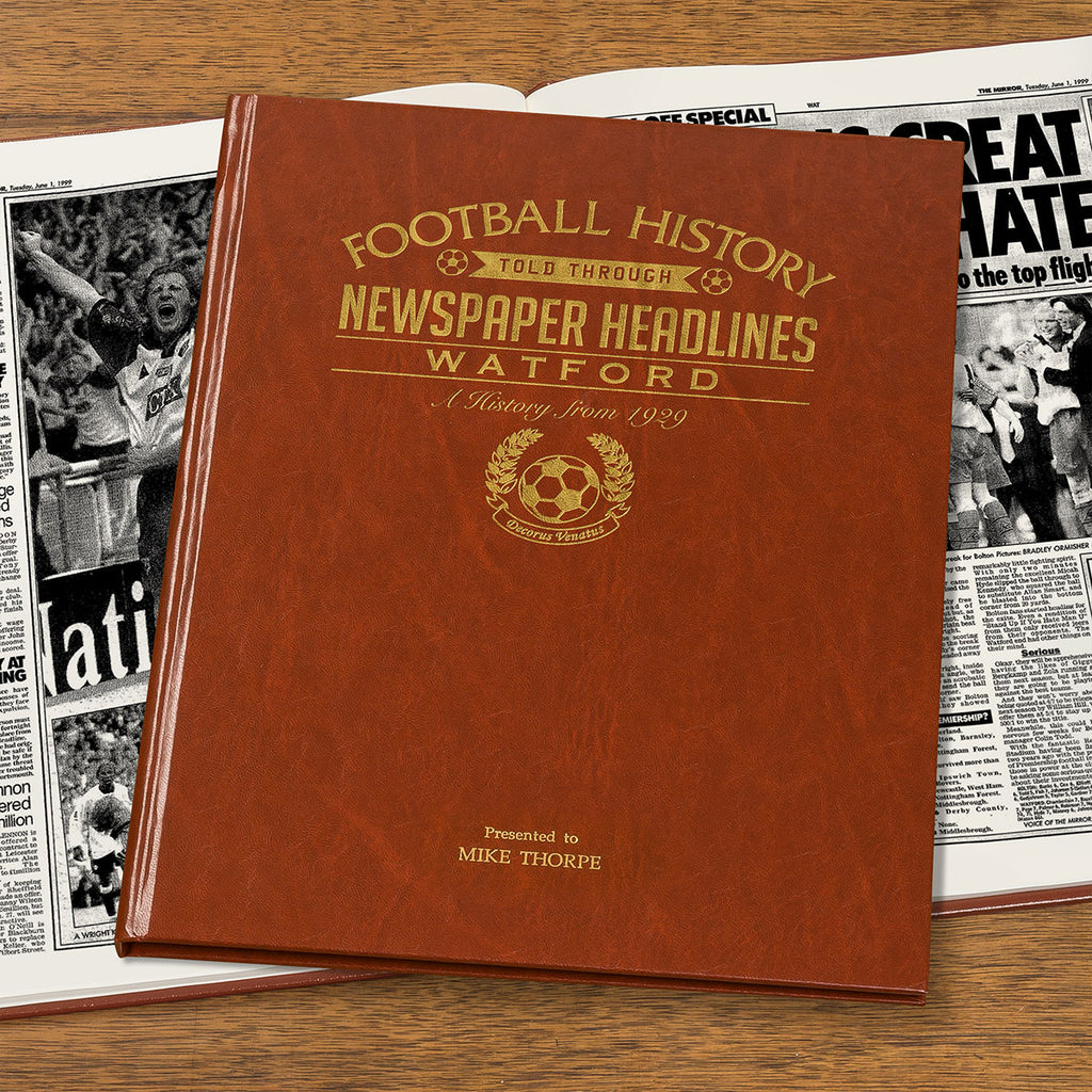 Football Book with Personalised Embossed Cover Option - Oh My Gift