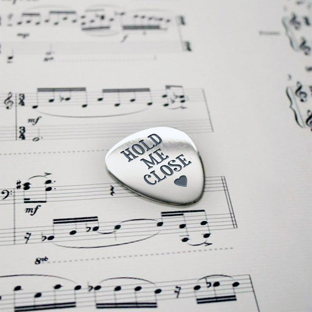 Guitar Plectrum Personalised with Name and Message - Oh My Gift