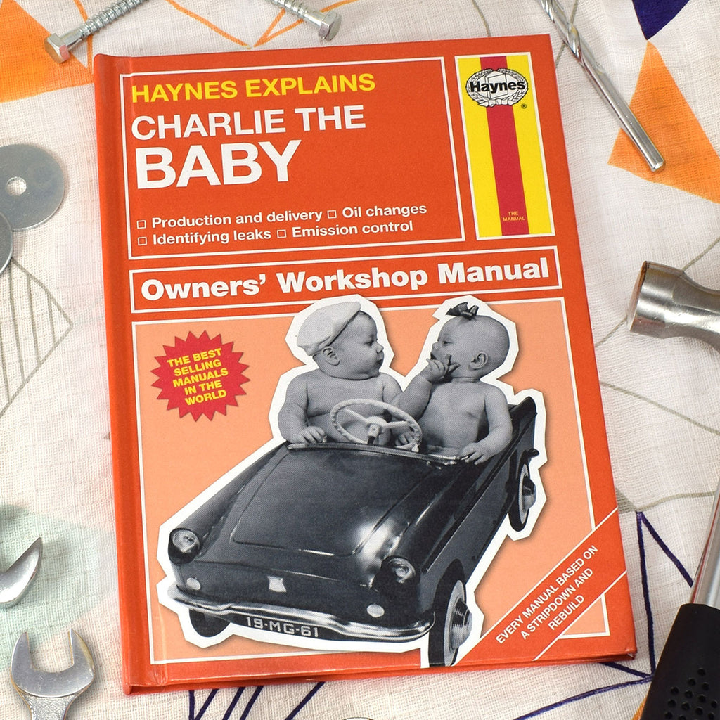 Personalised Haynes Explains Baby Manual - Oh My Gift