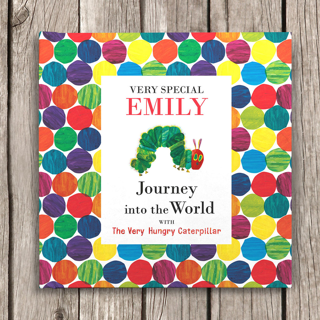 Personalised Very Hungry Caterpillar Book - Oh My Gift