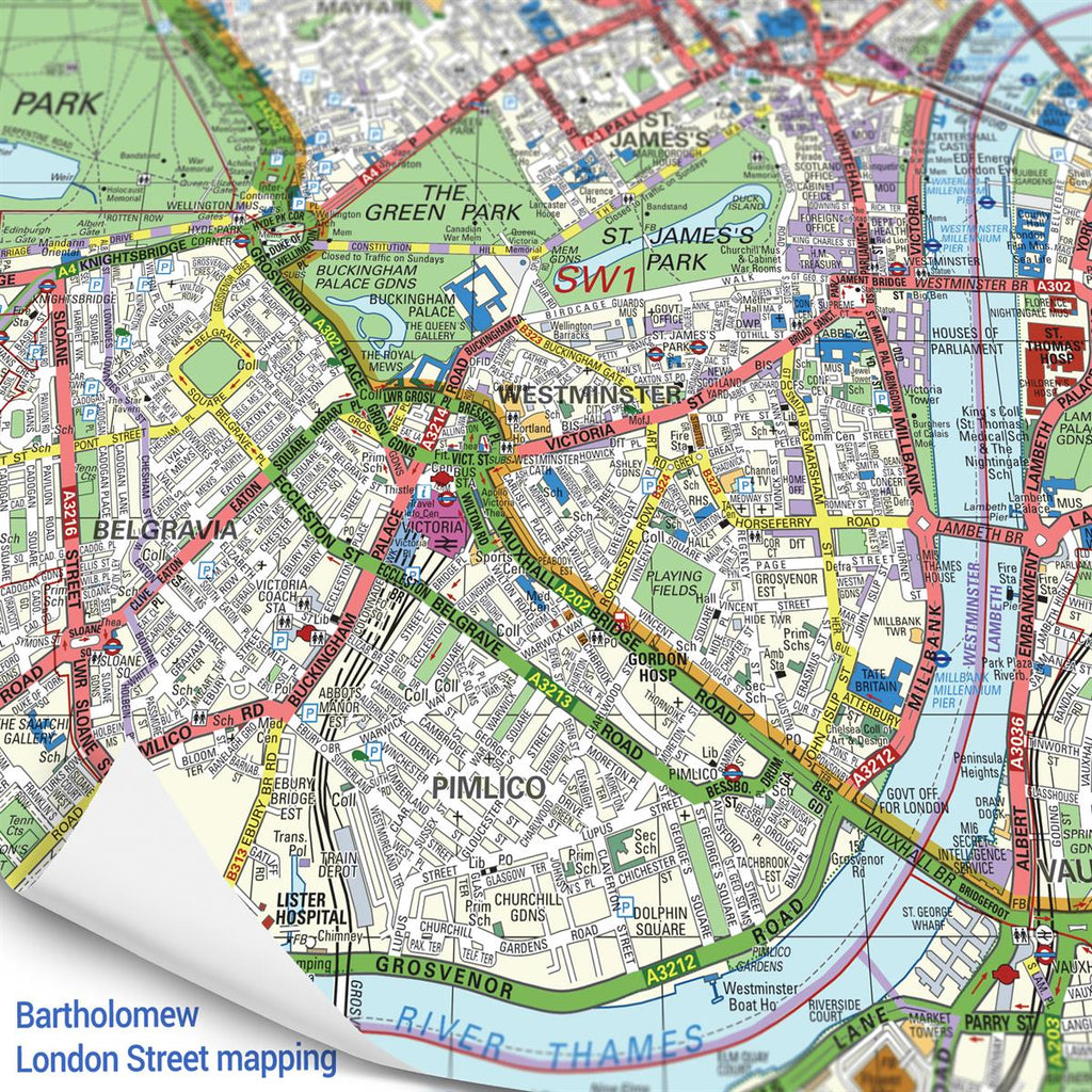 Map Napkins personalised to any London location of your choice - Oh My Giftel based on your UK location - Oh My Gift