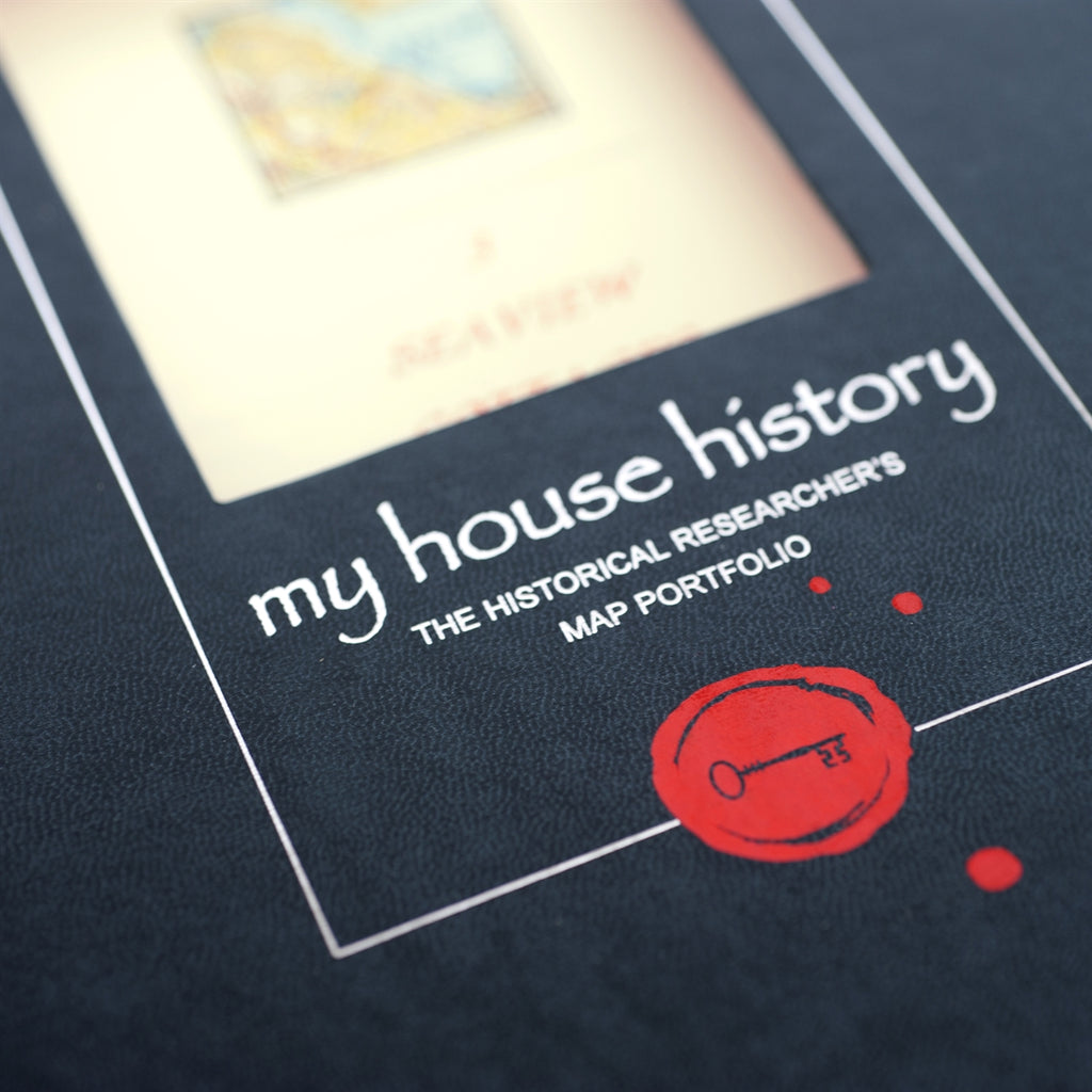 Personalised Portfolio containing 150 years of map records of your home - Oh My Gift