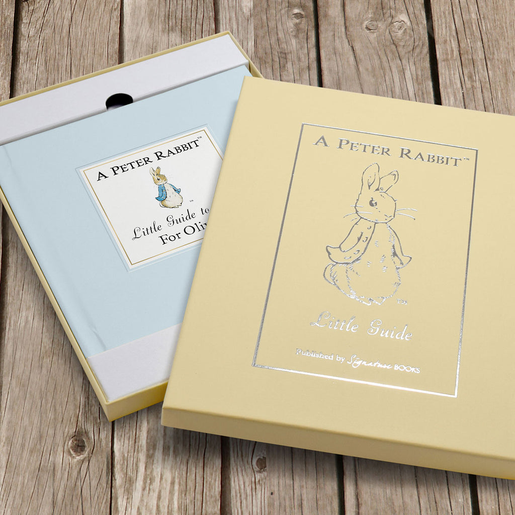 Personalised The Peter Rabbit Little Guide to Life With Gift Box - Oh My Gift