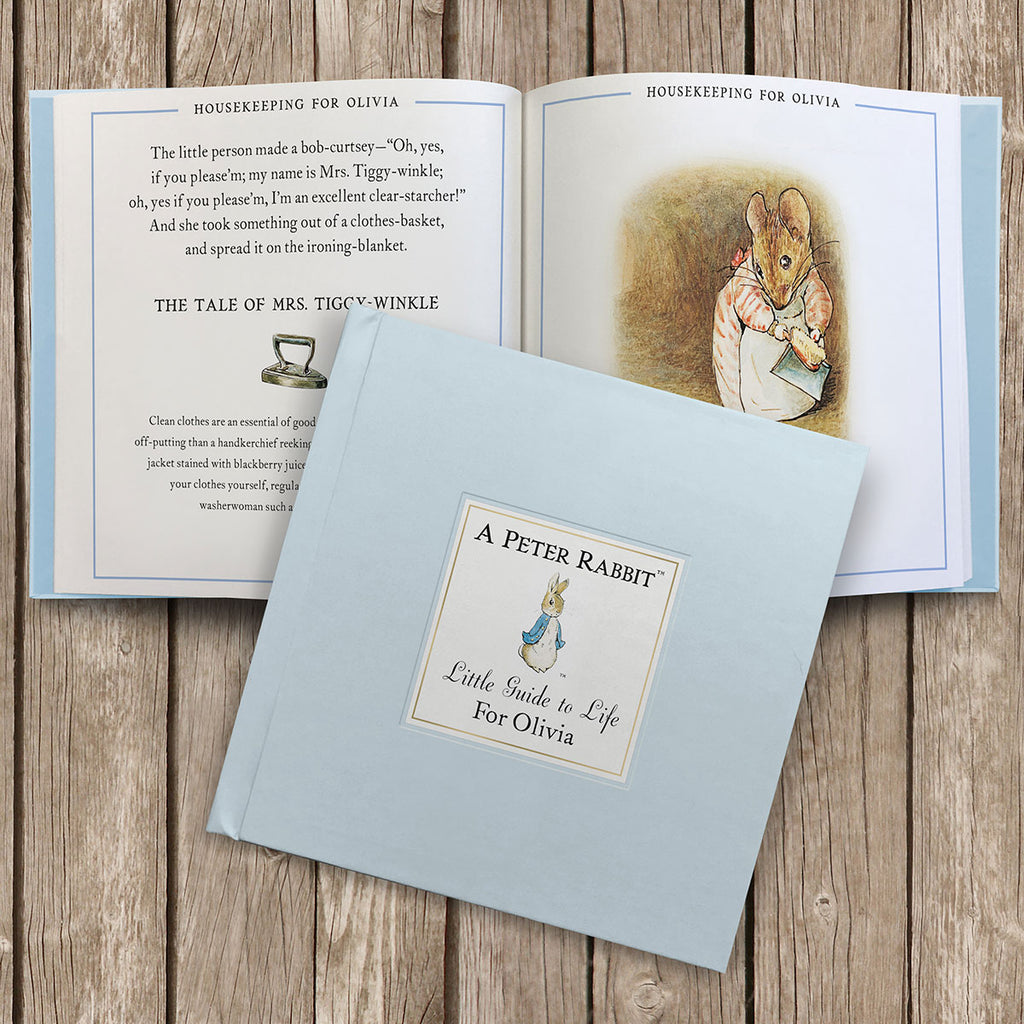 Personalised The Peter Rabbit Little Guide to Life Book - Oh My Gift