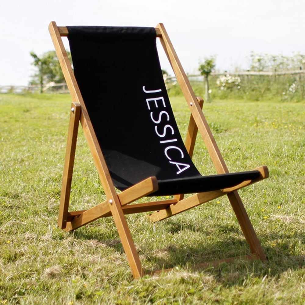 Personalised Deckchair Gift for Dad - Oh My Gift