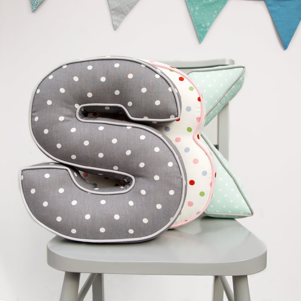 Personalised Letter Cushion - Oh My Gift