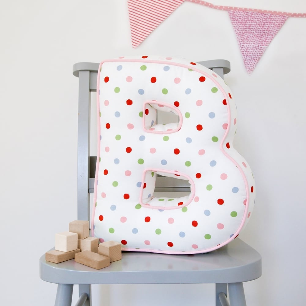 Personalised Letter Cushion - For Teenage Girls - Oh My Gift