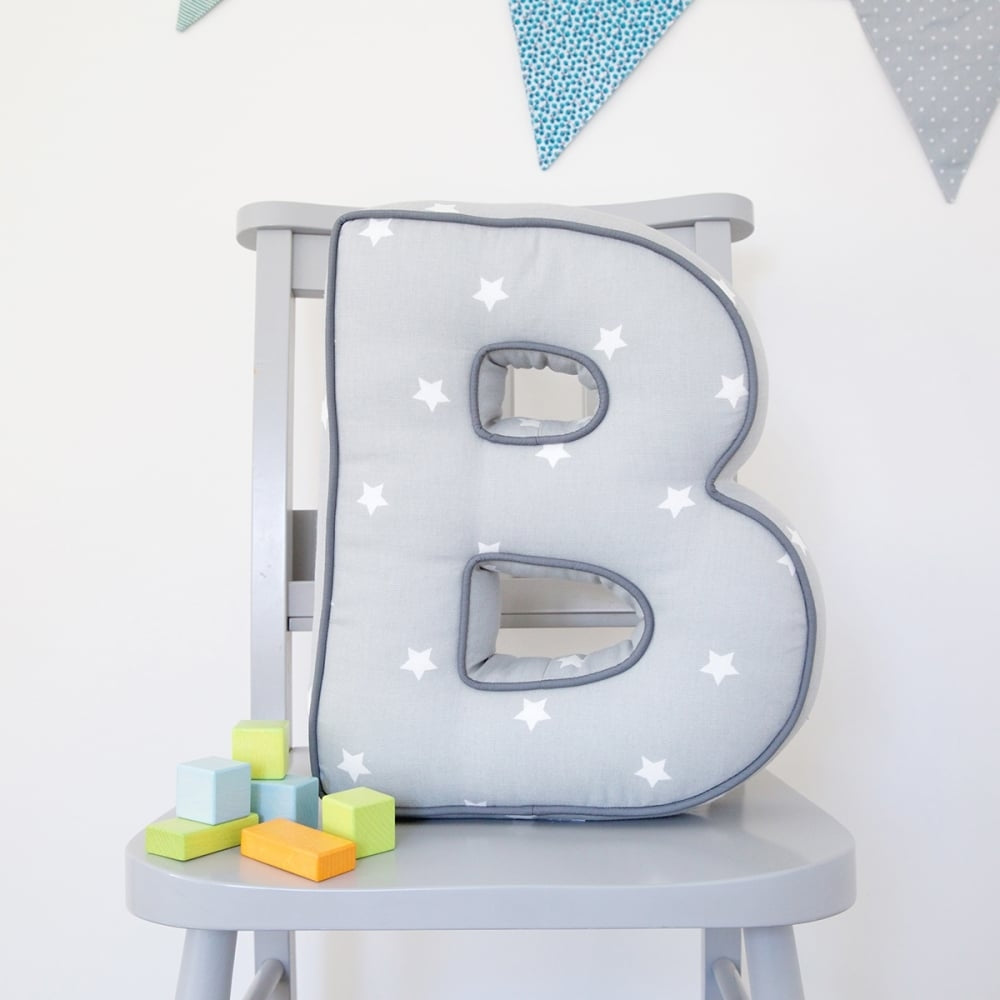 Personalised Letter Cushion is a lovely gift for children - Oh My Gift