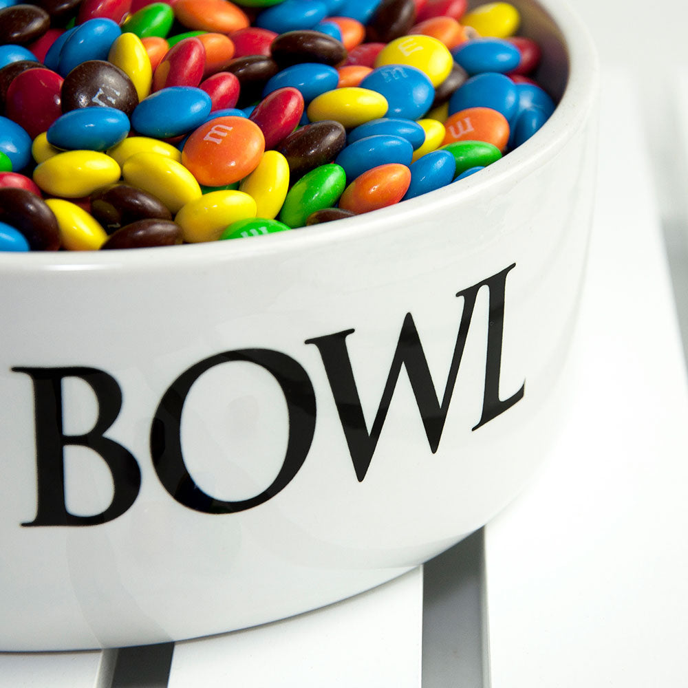 Super Large Man Bowl Personalised with Name Close Up - Oh My Gift
