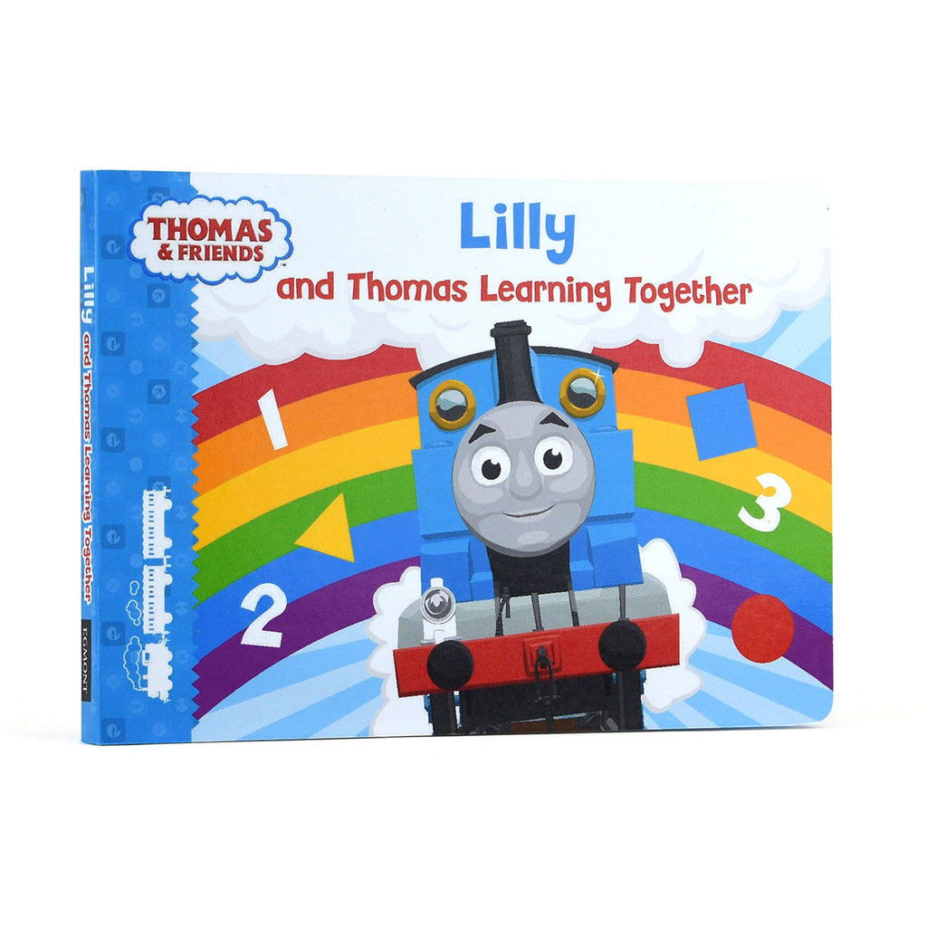 Personalised Thomas & Friends Learning Together Board Book - Oh My Gift