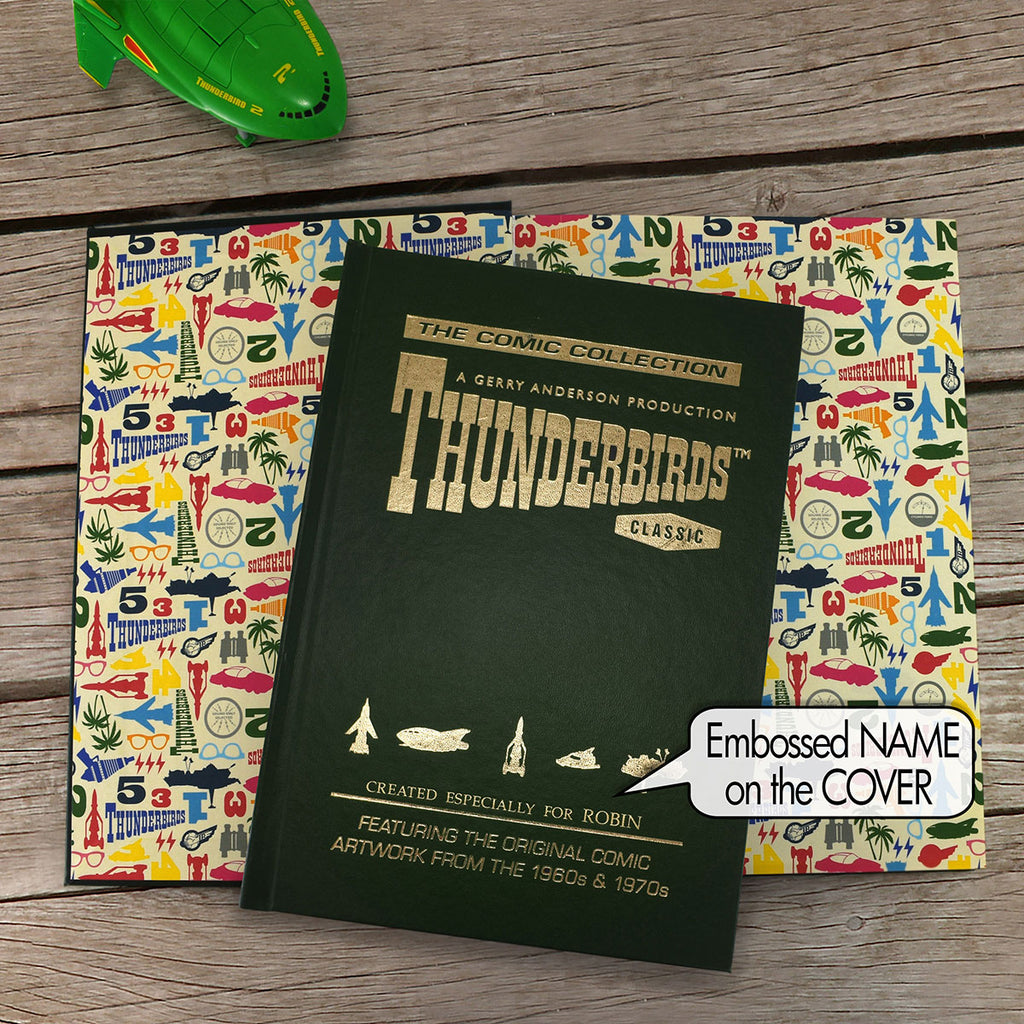 Personalised Thunderbirds Collection Book Display - Oh My Gift