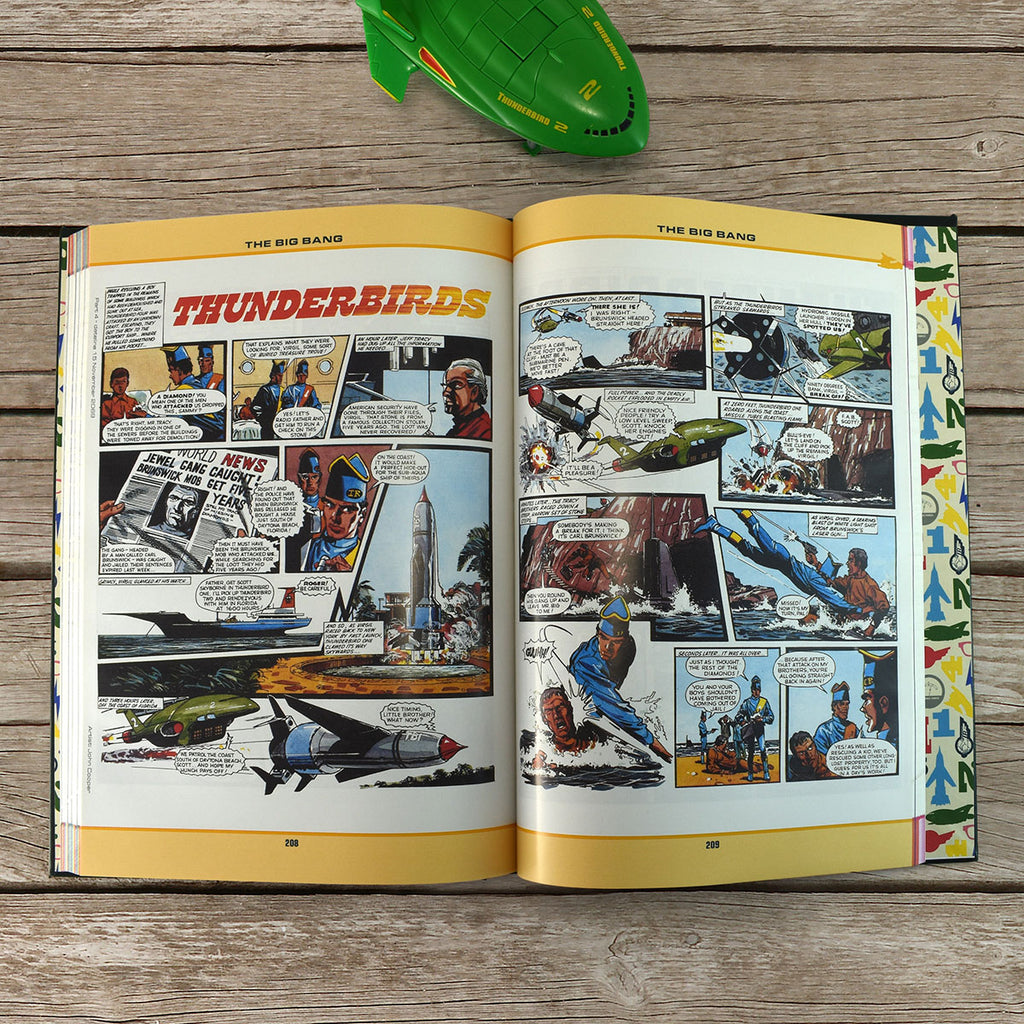 Personalised Thunderbirds Collection Book Showing Pages - Oh My Gift