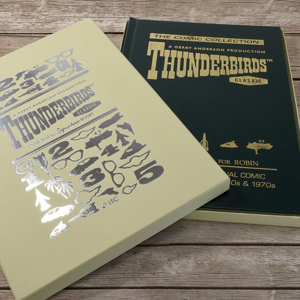 Personalised Thunderbirds Collection Book With Gift Box - Oh My Gift