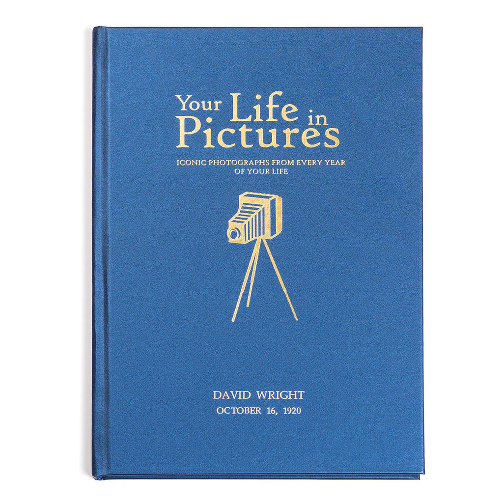 Personalised Your Life In Pictures Book - Oh My Gift