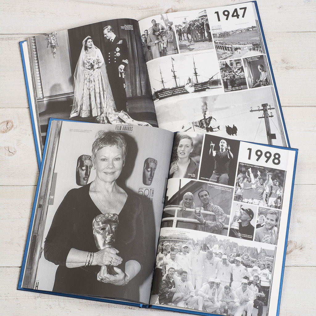Personalised Your Life In Pictures Book Showing Inside Page - Oh My Gift