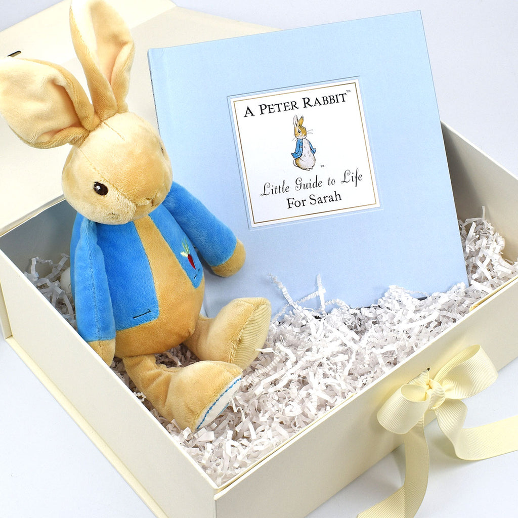 Peter Rabbit Guide to Life Plush Toy Gift Set - Oh My Gift