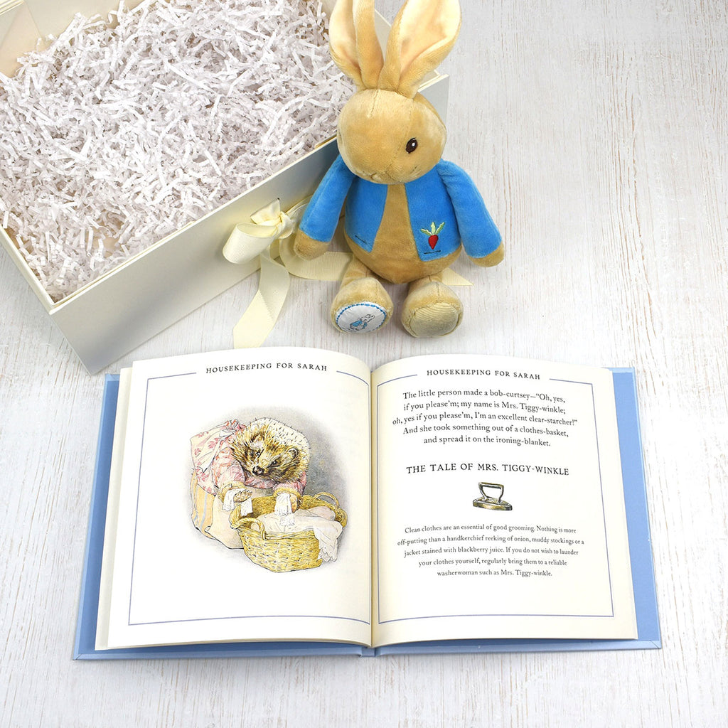 Peter Rabbit Guide to Life Plush Toy Gift Set - Perfect Gift for Babies - Oh My Gift