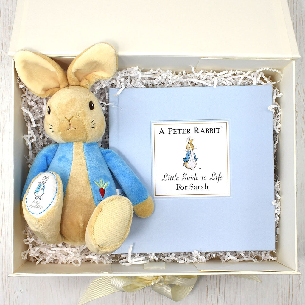 Peter Rabbit Guide to Life Plush Toy Gift Set - Gift for Beatrix Potter Fans - Oh My Gift
