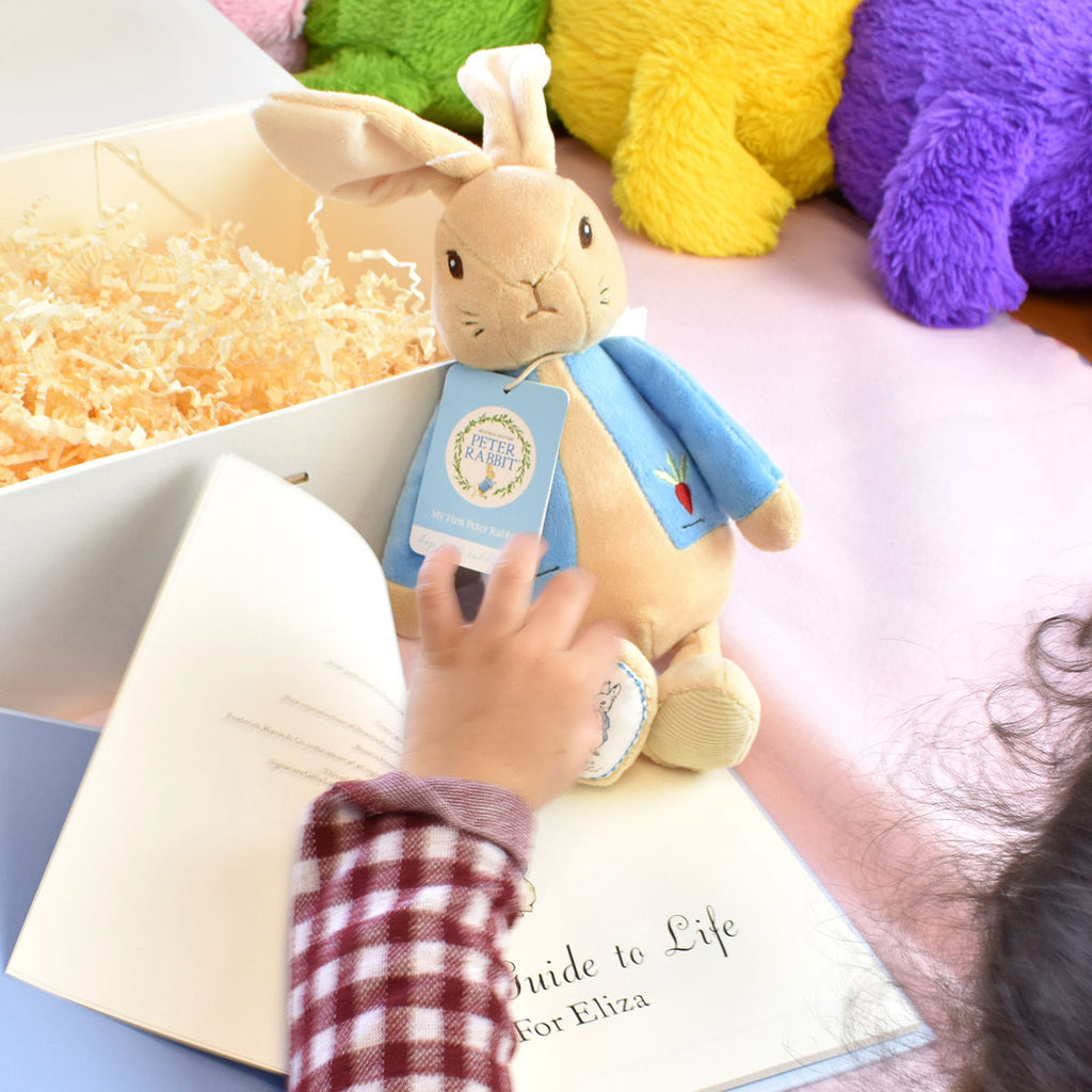 Peter Rabbit Guide to Life Plush Toy Gift Set - Great Baby Present - Oh My Gift