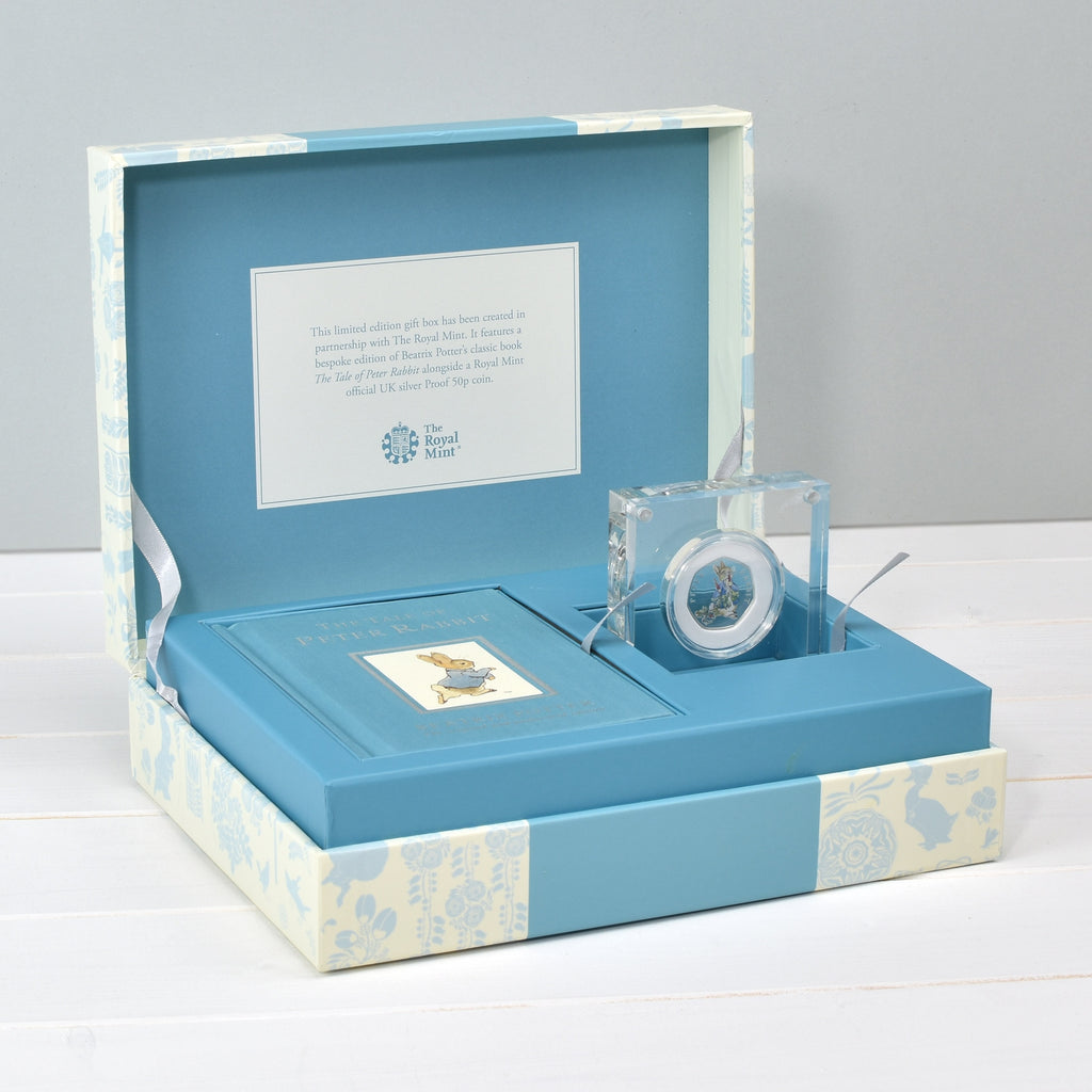 Peter Rabbit Royal Mint Silver Proof Coin & Book Set - Oh My Gift