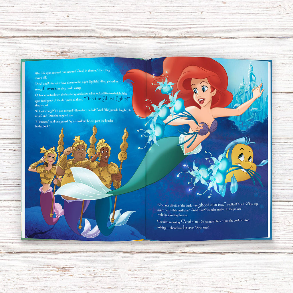 Personalised Disney Princesses: Tales of Bravery Book for Little Girls - Oh My Gift