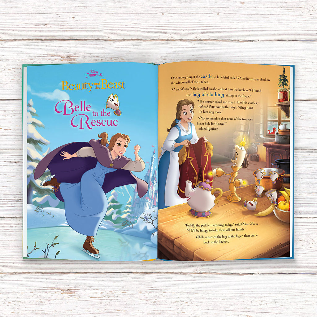 Personalised Disney Princesses: Tales of Bravery Book - Reading for Girls - Oh My Gift