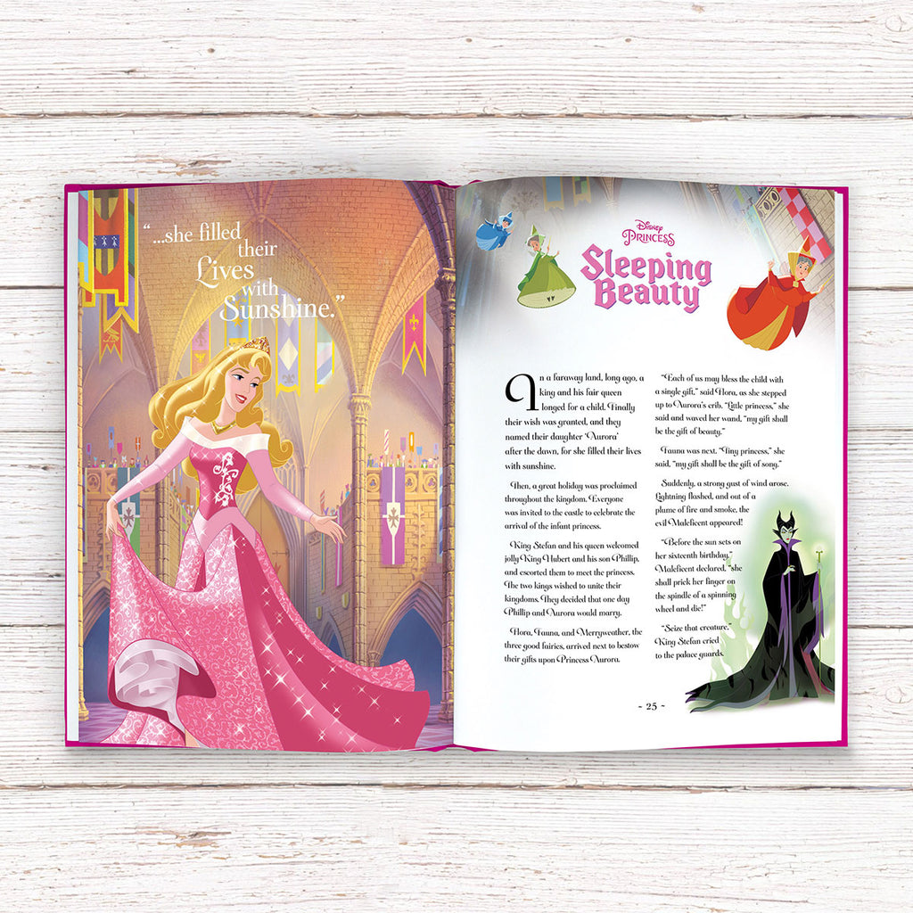 Personalised Disney Princess Ultimate Collection Book for Girls - Oh My Gift