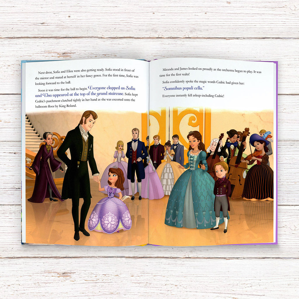 Personalised Disney Book for Girls - Sophia the First - Oh My Gift