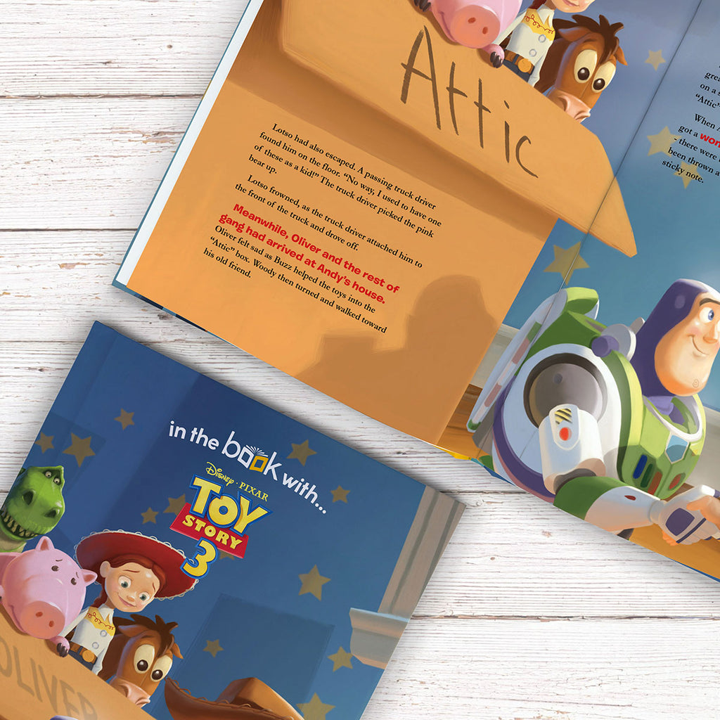 Personalised Disney Toy Story 3 Book - Perfect Gift for Buzz Lightyear Lovers - Oh My Gift