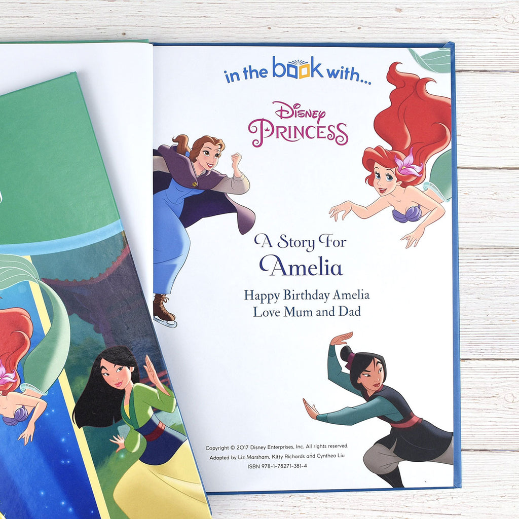 Personalised Disney Princesses: Tales of Bravery Book - Oh My Gift - Personalised Name & Message