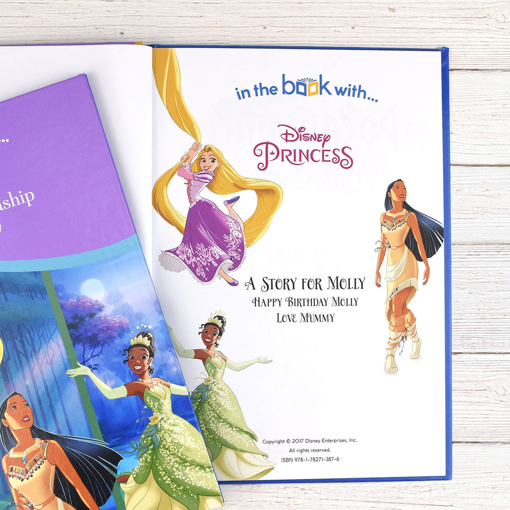 Personalised Disney Princesses: Tales of Friendship Book - Oh My Gift - Personalised Name & Message