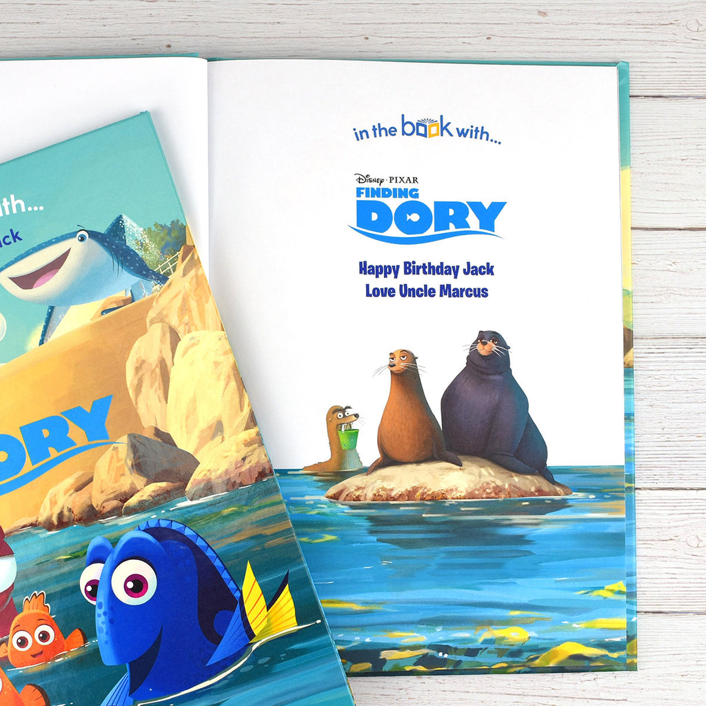 Personalised Disney Finding Dory Book - Great Gift for Children - Oh My Gift