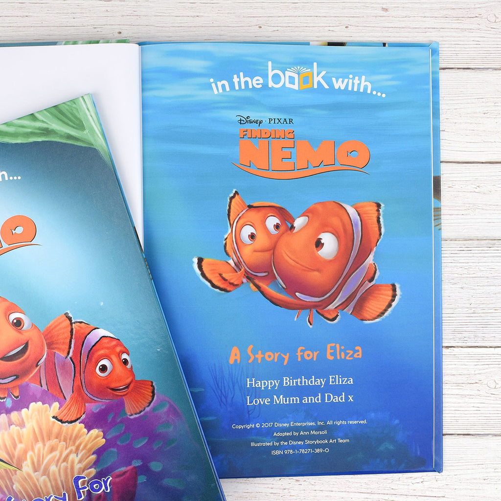 Personalised Disney Finding Nemo Book - Fun Reading for Little Ones - Oh My Gift