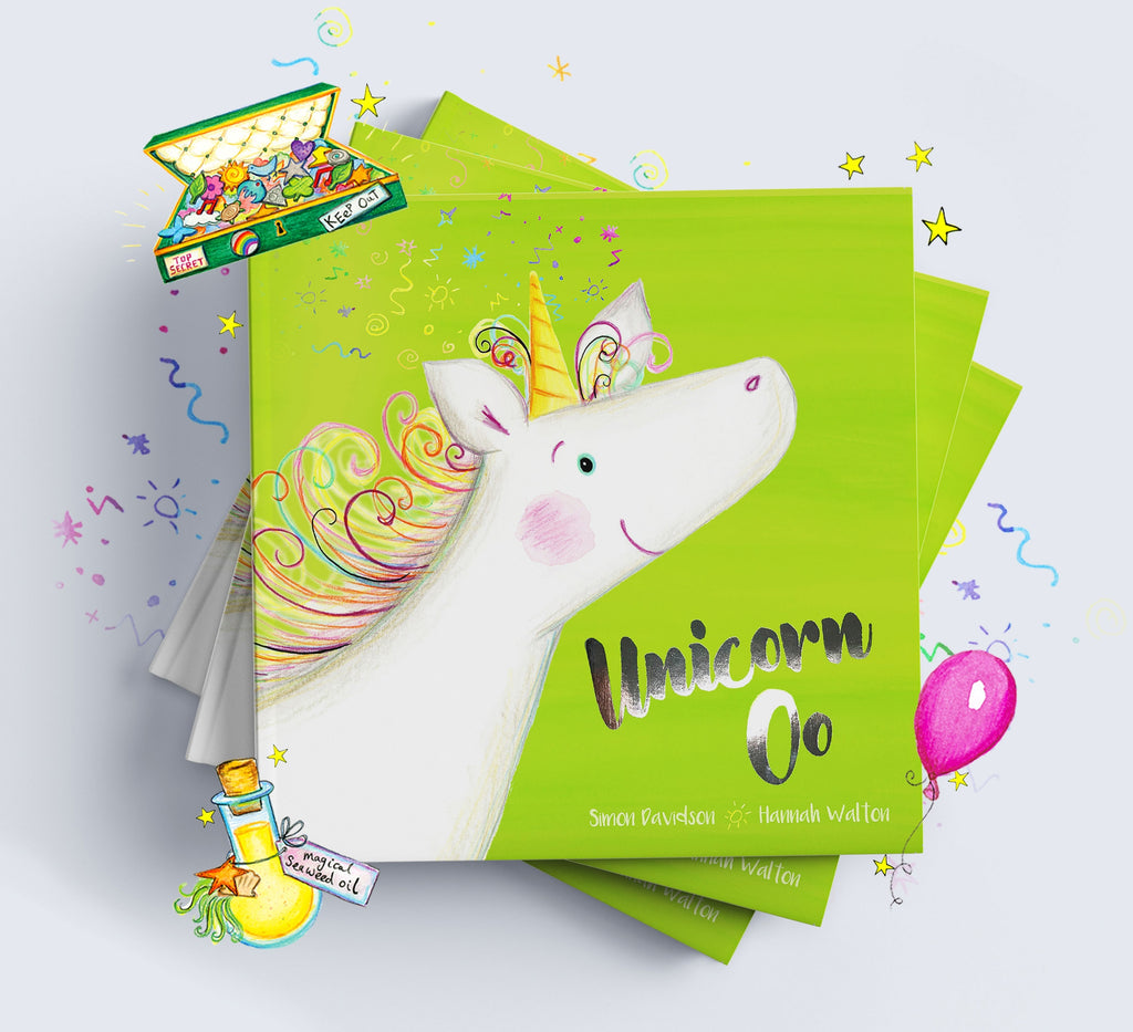 Unicorn Oo Personalised Book for Children - Oh My Gift