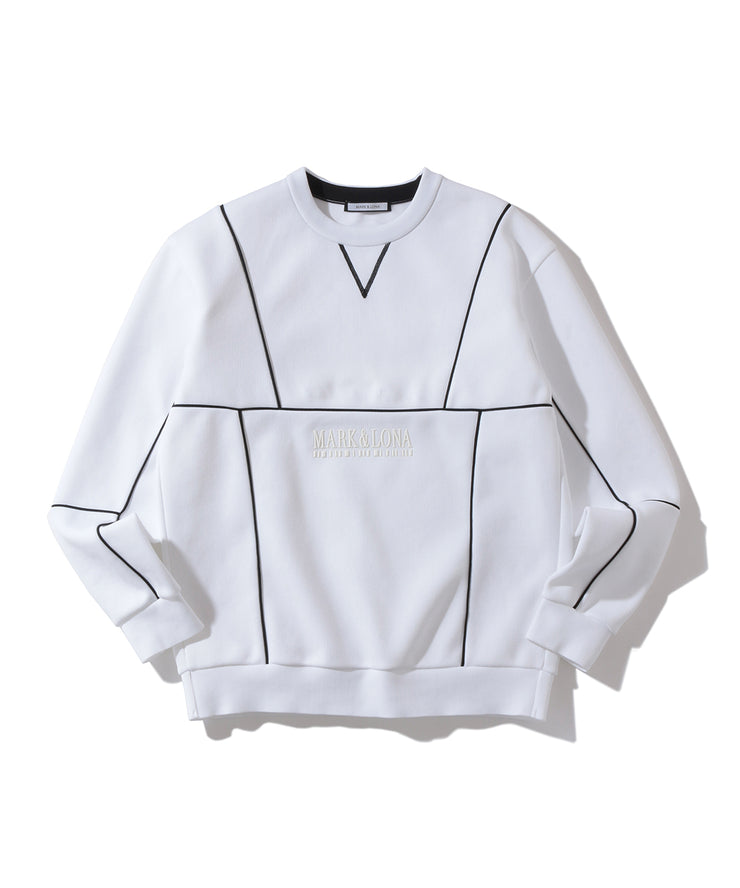 CD5-Piping Crew Sweater | MEN
