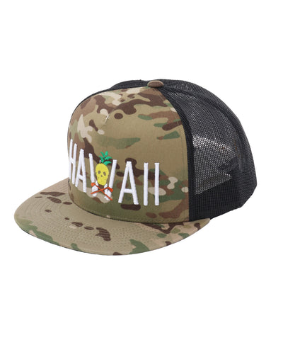 Hawaii Camo Hat