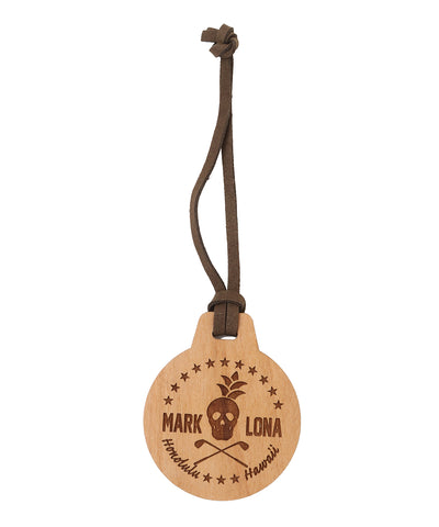Round Wooden Tag