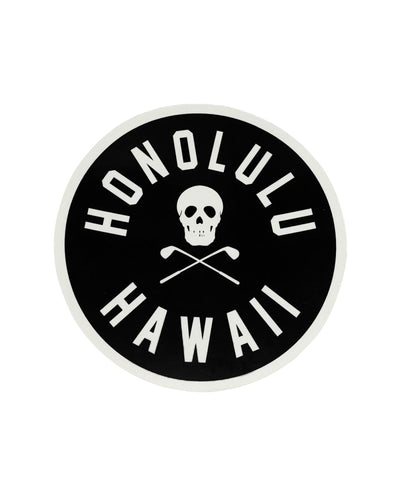 HONOLULU HAWAII STICKER