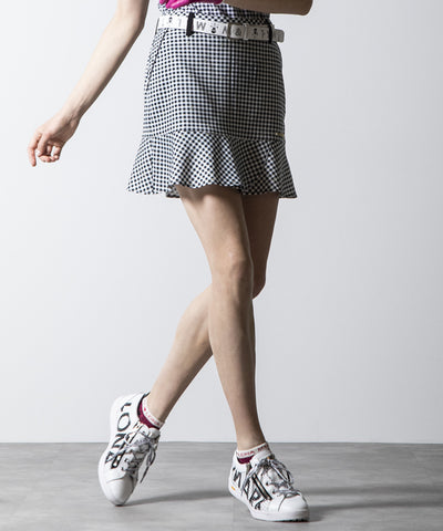 Duel Gingham Skirt | WOMEN
