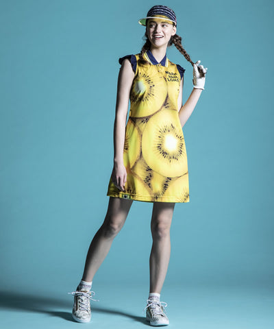 Maiden Fruits Polo Dress | WOMEN