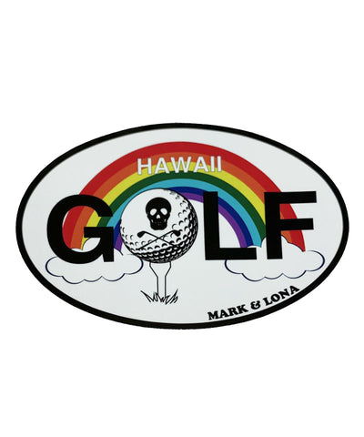 HAWAII GOLF STICKER