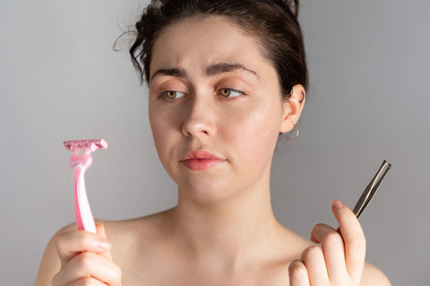 Female Facial Hair Removal: Don't Shave!