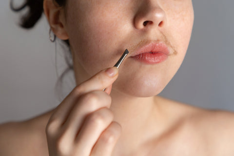 Tweezers Are a Great Facial Hair Removal Tool- For Small Areas