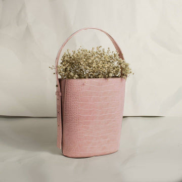 Sophia Bucket Bag - Pink