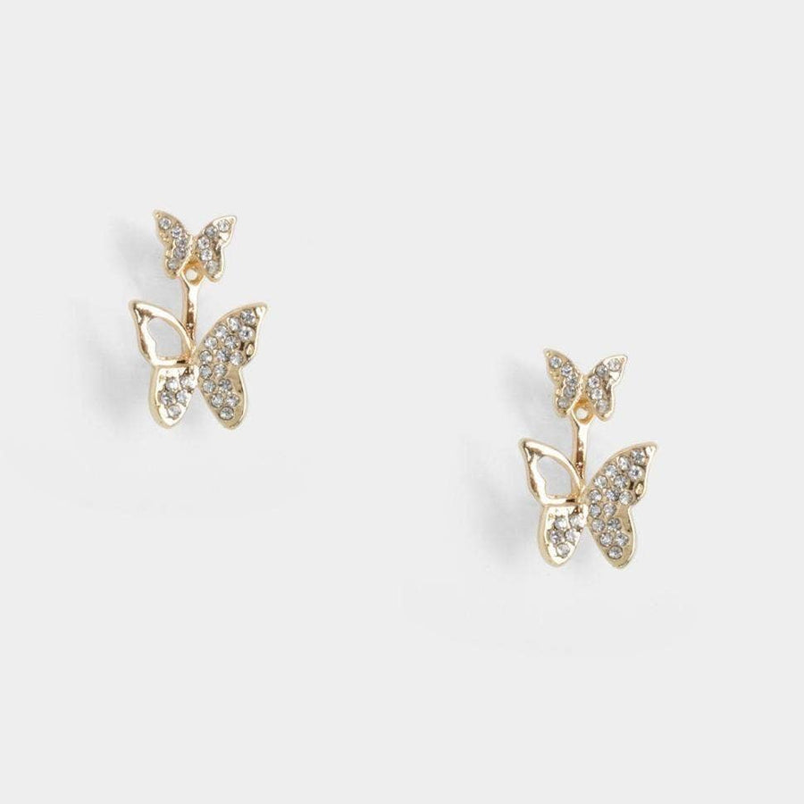Adonis Twins Stud Earrings